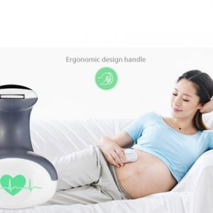 Ultrasound Doppler Radiation-Free Fetal Heart Rate Monitor FHR Monitor Fetal Heart Rate Monitor Headphone Output