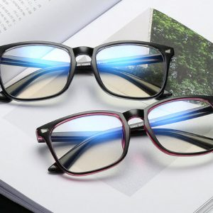 2019 New Popular Computer Glasses Frame Women Men Anti-blue Radiation Protection Flat Mirror Square Myopia Frame Eyeglasses 3