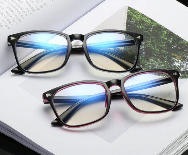 2019 New Popular Computer Glasses Frame Women Men Anti-blue Radiation Protection Flat Mirror Square Myopia Frame Eyeglasses 3