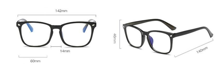 OFIR 2019 New Popular Computer Glasses Frame Women Men Anti-blue Radiation  Protection