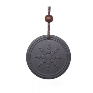 Fashion Women Men Quantum Black Necklace Pendant Scalar Orgon Energy neg ions EMF Protection Lot Only Pendant