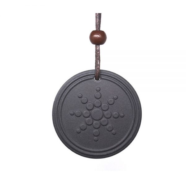 Fashion Women Men Quantum Black Necklace Pendant Scalar Orgon Energy neg ions EMF Protection Lot Only Pendant