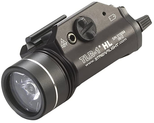 Streamlight 69260 TLR-1 HL Weapon Mount Tactical Flashlight Light